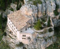 Pope Celestine V heritage. Sant'Onofrio al Morrone, Abruzzo (Italy)