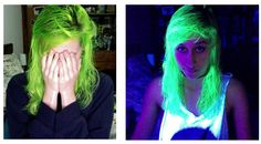 Sara con su Electric Lizard :)