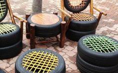 Do It Yourself Ideen mit alten Reifen - 20 inspirierende Beispiele