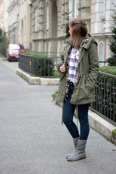 Das Outfit (http://www.clarks.de/p/20355890) von Bloggerin Hannah für kalte Tage: http://www.provinzkindchen.com/outfit-clarks-giveaway/ #AW14