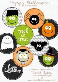 Free Halloween Stickers / Labels | Worldlabel Blog