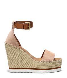 Femme Mesdames Flatforms Espadrilles Sandales Sangle cloutée Summer Wedge Shoes