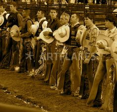 PBR Cowboys - Photo by Megan Oteri (c) All Rights Reserved. High resolution and professional quality prints available at Artflakes (posters, framed photos, note cards)