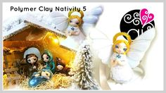 Polymer Clay Nativity Tutorial | DIY Presepe Fimo | L' Angelo | 5°