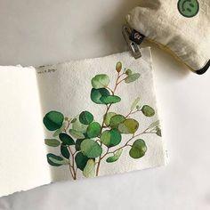 Amazing art ideas draw paper 43 ideas for 2019 Art Watercolor, Watercolor Illustration, Watercolor Flowers, Guache, Chiaroscuro, Art Graphique, Botanical Art, Art Tutorials, Painting & Drawing