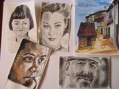 Pinturas e debuxos: Criaturas de papel.