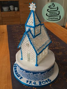 Making of Icing Kirche