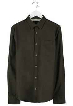AAQIL REGULAR FIT - Skjorte - olive night