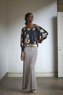 Sew Much Ado: Maxi Skirt Tutorial