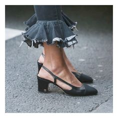 Outfit goals #chanel #frills #streetstyle #fashion