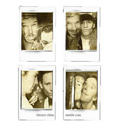 Hiddlebatch in a photo booth! So much Cheekbone in one picture. I can't.
