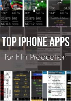 If you work in the film industry, you need to know about these apps. #filmmaking #filmmakers #setlife