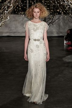 Jenny Packham 2014 Collection - Read more on One Fab Day: http://onefabday.com/jenny-packham-2014-collection/