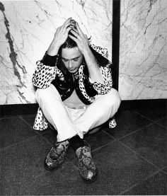Robert Downey Jr in Detour Magazine 1995 by Zombie Normal