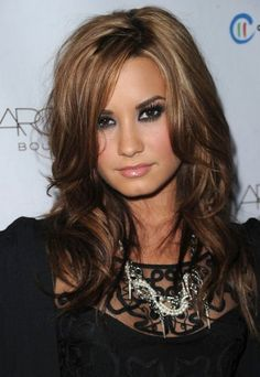love demi's hair color here. | We Know How To Do It