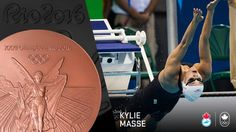 Canada has its third medal from the pool and fourth overall at Rio with Kylie Masse taking bronze (tied) in the backstroke on Monday night. The Canadian had come into the race with … Olympic Sports, Olympic Team, Kylie, Canada, Bronze, Rio 2016, Summer Olympics, Bring It On, Site Officiel