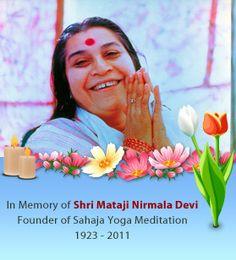 Free meditation | Learn how to meditate and enjoy the benefits! Sahaja Yoga Meditation, Free Meditation, Kundalini Yoga, Shri Mataji, Durga, Learn To Meditate, Relaxing Music, Reiki, Affirmations