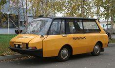 Unusual Vehicles | STRANGE VEHICLES - GOOFY YELLOW MINI BUS/TAXI
