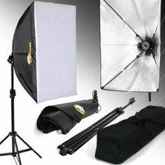 Boîte à lumière softbox éclairage studio photo revêtement blanc trépied Lightfox-HISY03