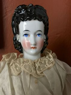 "15"" CONTA BOEHME CHINA HEAD DOLL"