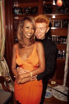 Iman & David Bowie - Marion Curtis