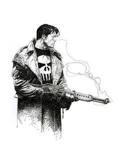 Punisher by Travis Charest.