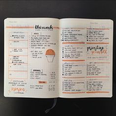 genspen again. I like the idea of having a small weekly overview with room for dailies and doodles.