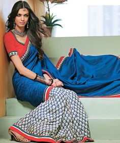 Buy Chanderi Cotton Blend Saree Blouse online at best price in India @ fashionandyou.com