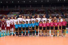 Reprezentacja Polski w Piłce Siatkowej przed meczem z reprezentacją Rosji  Puchar Świata w Piłce Siatkowej Mężczyzn 2015