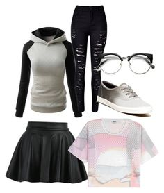 """""""Untitled #79"""" by susannhaabeth on Polyvore featuring Kenzo and Keds"""