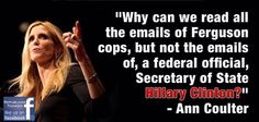 Ann Coulter ...