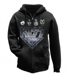 KISS Army Faces Zip Hoodie Sweatshirt