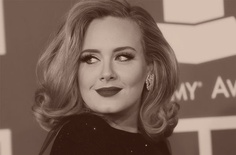 Gotta love Adele!  If for nothing else, because she is true to herself!