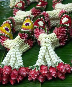 Thai flower garland - wish I had one...