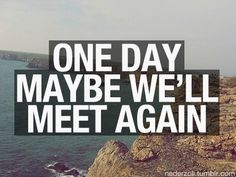 one direction ??? again meaning ill meet you for sure some day and then again in the altar when i marry you lol hahaha :) every fangirls dream i guess xxx