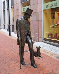 Mr Plimmer and his dog <3 . Wellington, New Zealand