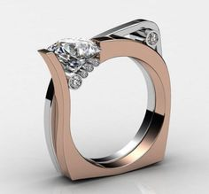 A Perfect 2.61CT Round Diamond Cut Russian Lab Diamond Rose Gold Floral Engagement Promise Anniversary Wedding Ring - Turn around your jewelry buying experience! Read how at http://jewelrytipsnow.com/these-tips-can-turn-your-jewelry-experience-around/