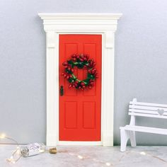 How are the elves visiting your home? We have the perfect size Elf Doors at The Magic Door Store #elf #elfdoor #christmas #magic