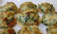 Foodista   Recipes, Cooking Tips, and Food News   Easy Onion Cheese Puffs -- can be done GF too!