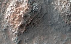 Chaotic Terrain in Eridania Basin