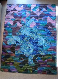 Non-Block Modern Quilt
