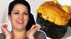Americans Try うに (Sea Urchin) For The First Time
