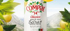 Compal Clássico - o sabor que nasceu antes de Portugal