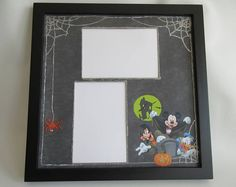 Disney Themed Halloween Picture Frame Mickey's Not So Scary Halloween Party Photo Frame Disney World Disneyland Vacation holds pictures Halloween Picture Frames, Collage Picture Frames, Halloween Pictures, Scary Halloween, Halloween Party, Party Photo Frame, Disney Collage, Disneyland Vacation, Disney Inspired