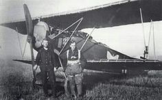 Hans Jungwirth with Fokker D.VII