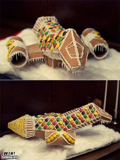 GINGERBREAD SERENITY! This needs to happen this Christmas!