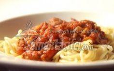 Sarımsaklı Domatesli Spagetti