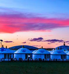 Mongolian Yurt, Yurts, Canon Eos, China, Mountains, Nature, Travel, Naturaleza, Viajes