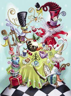 Santa Land Advent Calendar