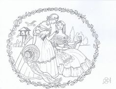 Crinoline Lady iron on Embroidery transfers 8 A4 sheets by Webster's | eBay